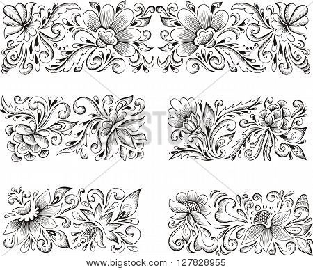 Symmetric Flower Patterns