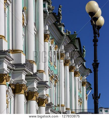 Hermitage (The Winter Palace) St. Petersburg. Russia.
