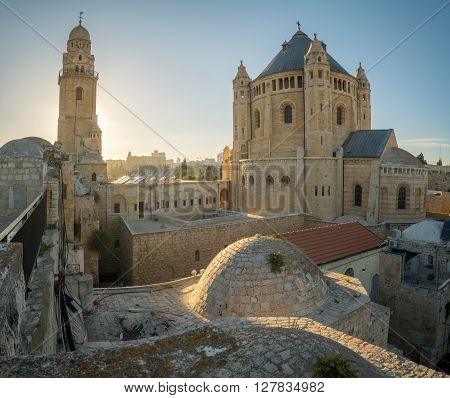Dormition Abbey, In Jerusalem