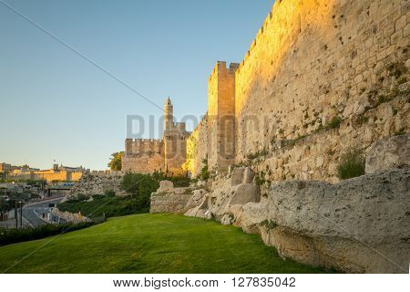 Walls Of The Old City, Jerusalem