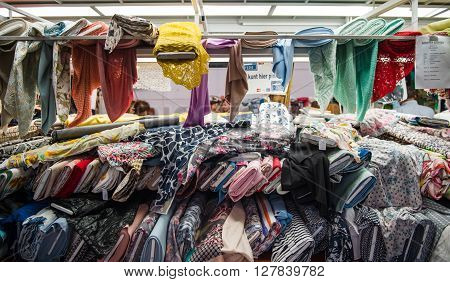 Textile Fabrics At Market