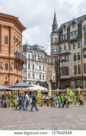 Riga Downtown, Latvia