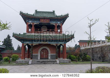 Tianmen Mountain Temple Architecture