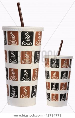 ice coffee paper cup