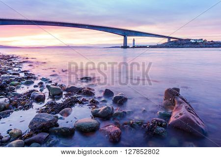 Isle Of Skye Bridge Seascape