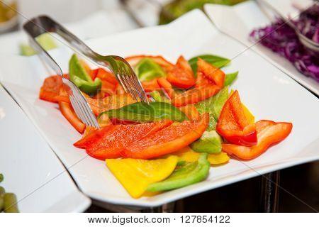 Restaurant Buffet Photo Fresh Food 6