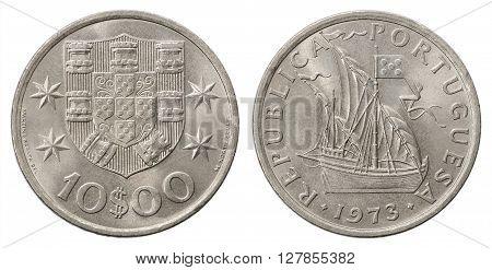 Portuguese Escudo Coin