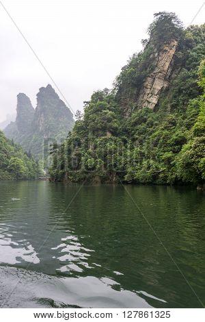 Baofeng Lake Scenery