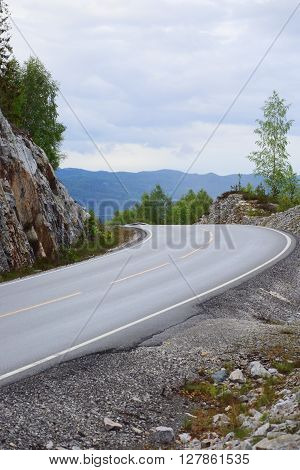 Mountain Road, Norway