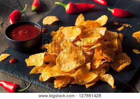 Hot Spicy Sriracha Potato Chips