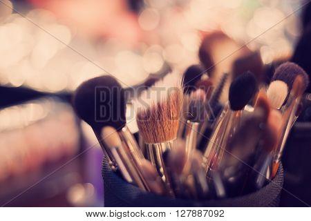 Professional Visagiste Brushes For Make Up