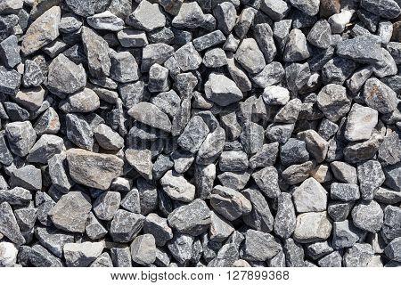 Crushed Grey Stones