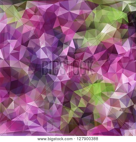 Vector modern abstract polygonal background with violet color for design