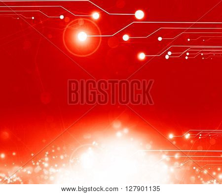 Red computer circuit