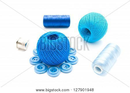 Buttons, Thimble And Thread