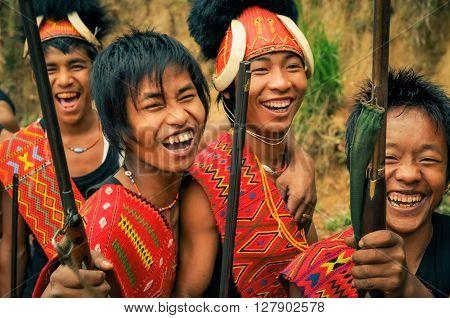 Happy Boys At Festival