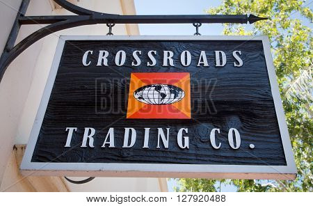 Crossroads Trading Company Exterior And Sign