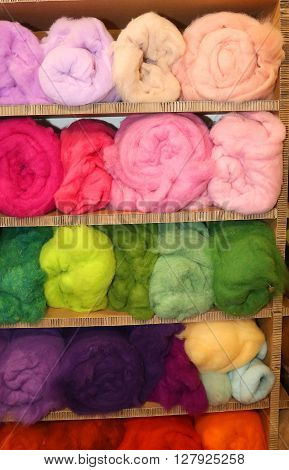 Soft Wool For Sale In Balls In The Wholesaler's Shop