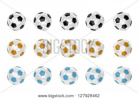 Soccer Ball With Different Color