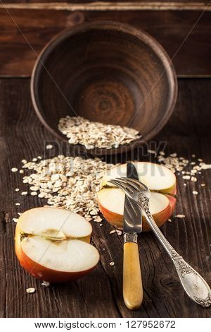 Apple And Oatmeal