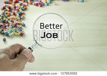 Better Job Text