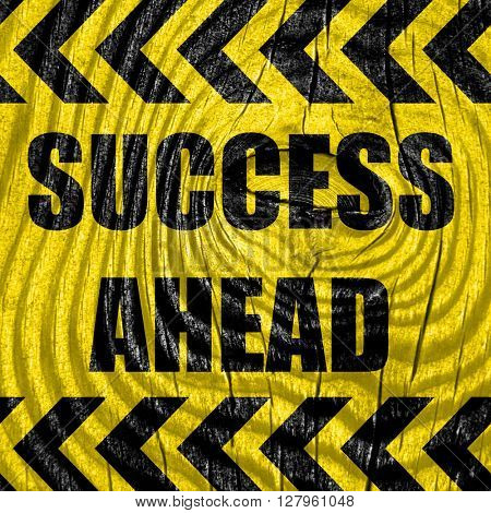 Success sign with smooth lines