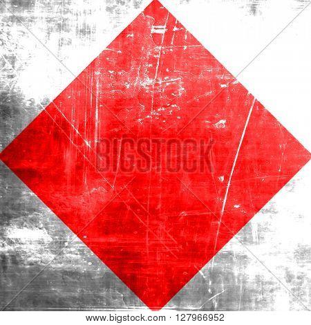 Foxtrot maritime signal flag