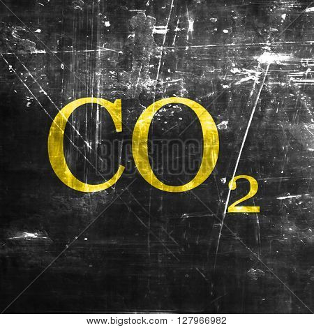 CO2 warning sign
