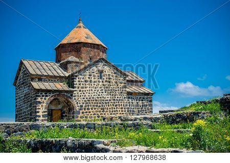 Photo of the Church on Sevan lake