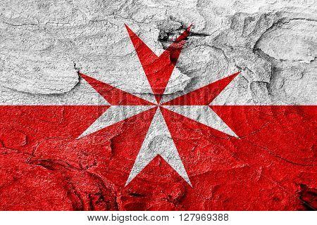 Malta knights flag