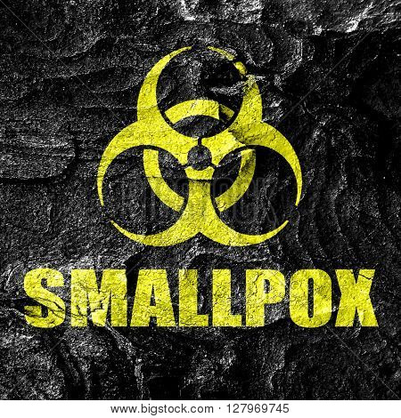smallpox concept background
