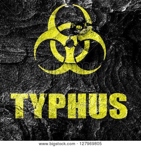 Typhus concept background