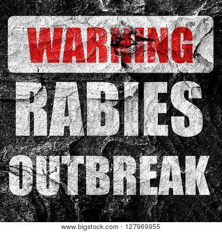Rabies virus concept background