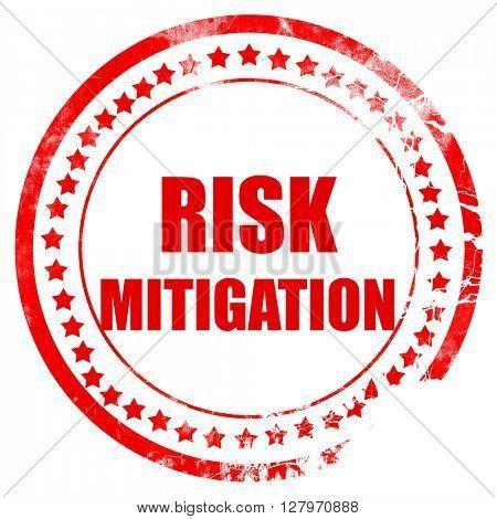 Risk mitigation sign