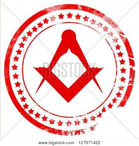Masonic freemasonry symbol
