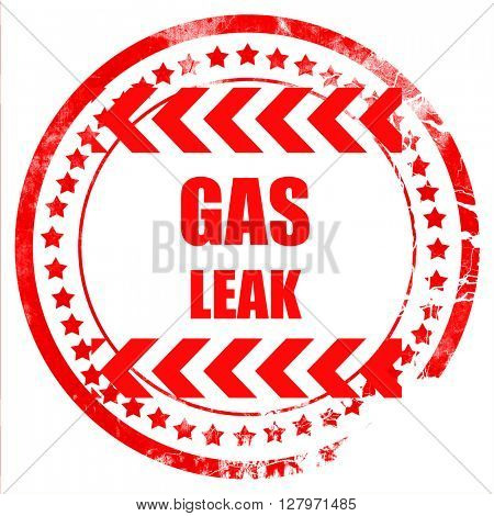 Gas leak background