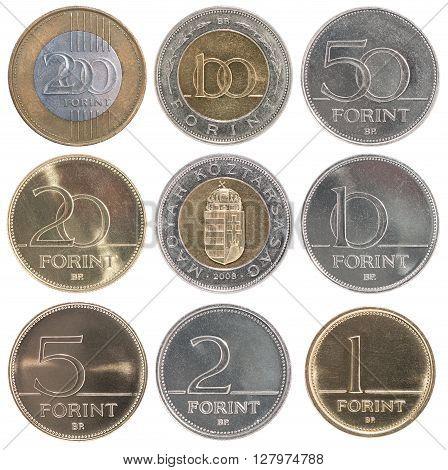 Hungarian Full Set Coin