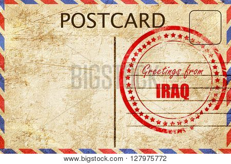 Greetings from iraq