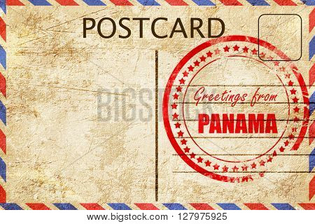 Greetings from panama