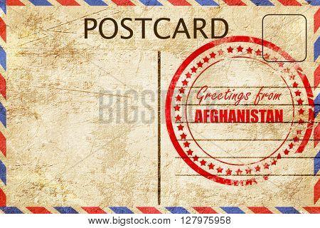 Greetings from afghanistan
