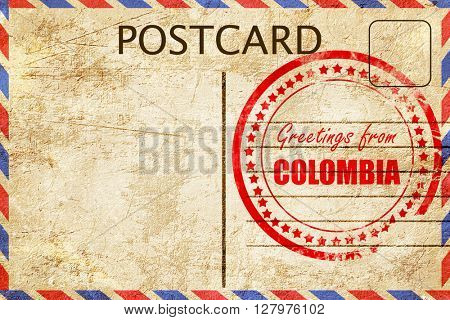 Greetings from colombia