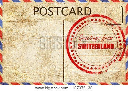 Greetings from switzerland