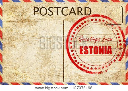 Greetings from estonia