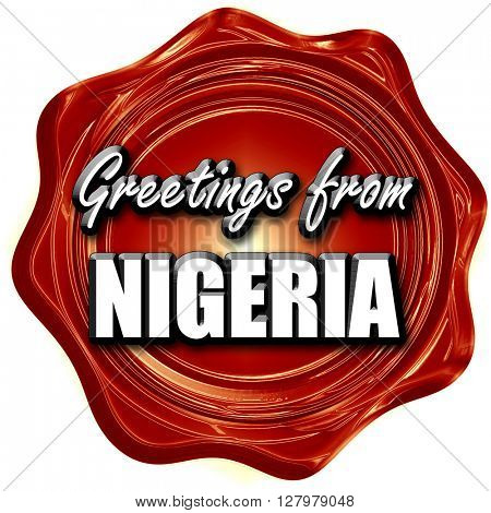 Greetings from nigeria