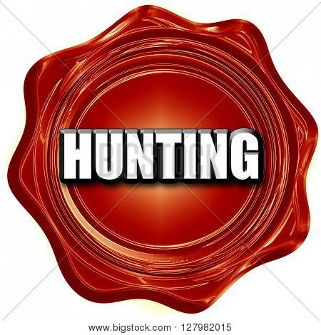 hunting sign background