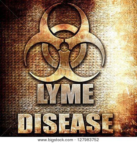 Lyme virus concept background