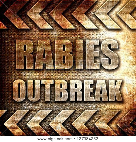 Rabies virus concept background