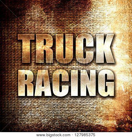 truck racing background