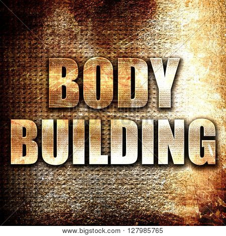 bodybuilding sign background