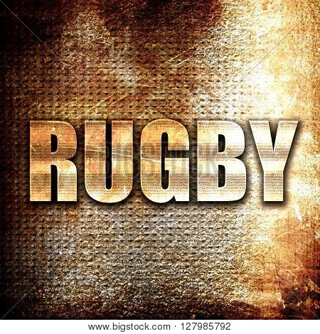 rugby sign background